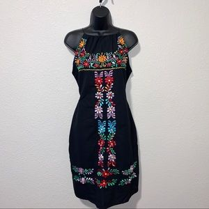 Dresses & Skirts - Beautiful Authentic Hand Embroidered Mexican Dress